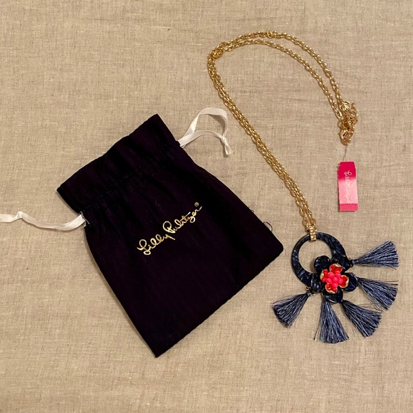 Lilly Pulitzer Maritime Tassel Necklace